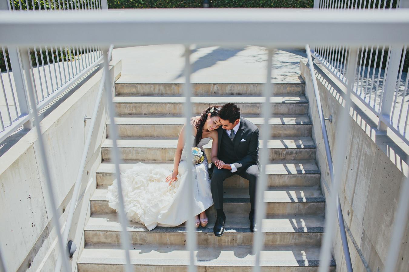 Skirball Cultural Center Wedding Photos