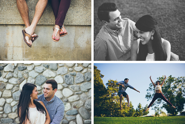 English Springs Park Engagement Photos