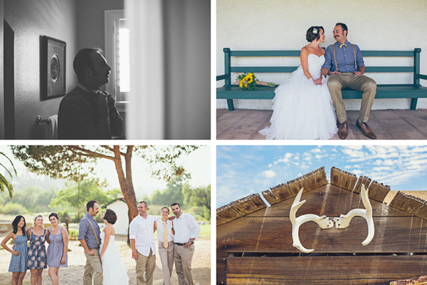 Rancho Guajome Adobe Wedding Photos