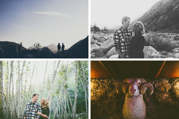 Mt. Baldy Engagement Photos