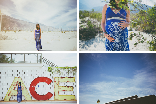 Palm SPrings Maternity Photos