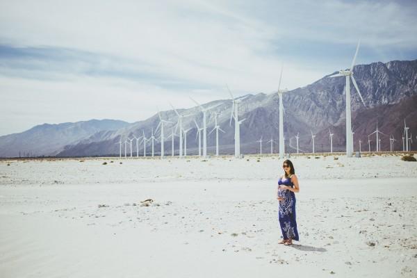 Palm Springs Maternity Photos