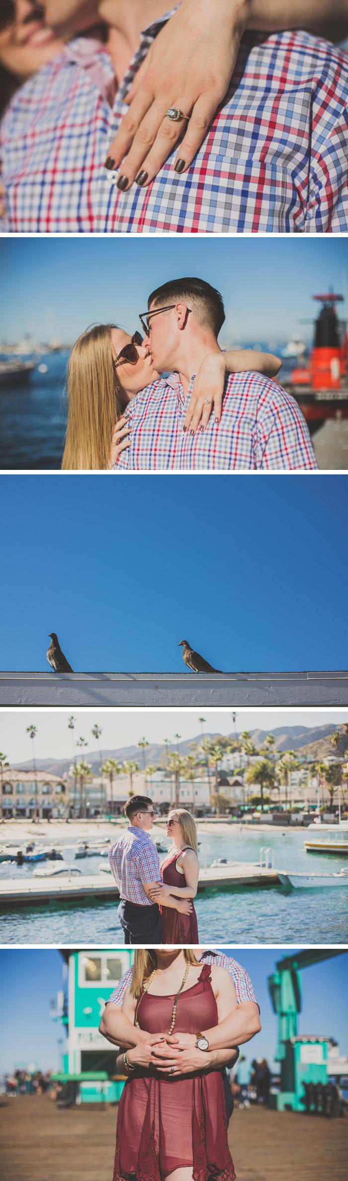 Catalina Island Engagement Photos