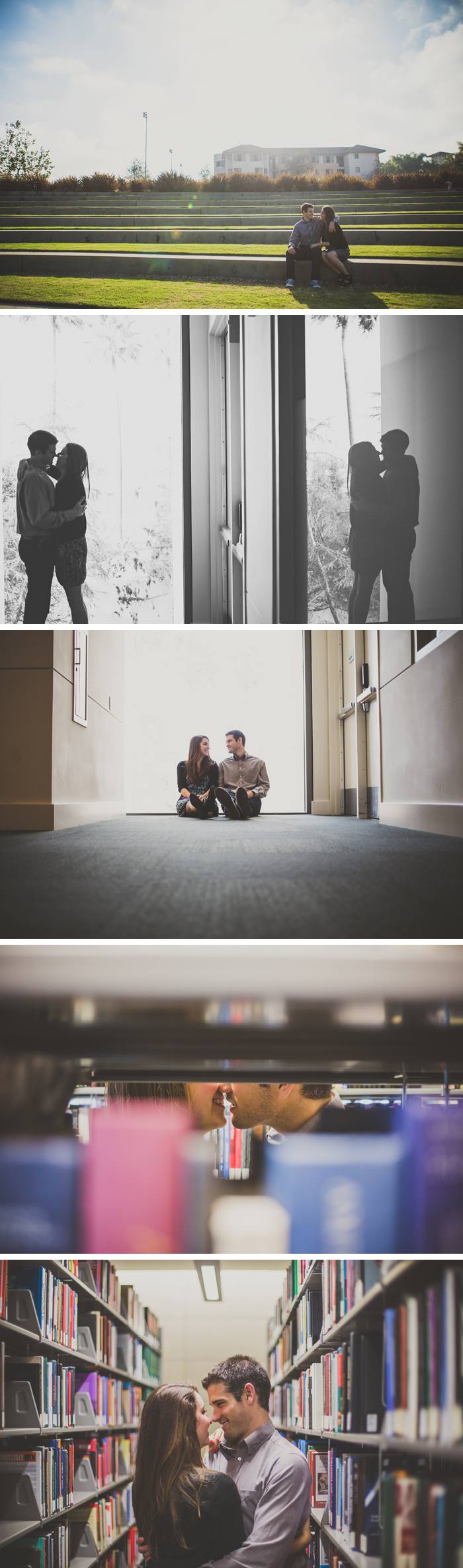 Loyola marymount university engagement photos