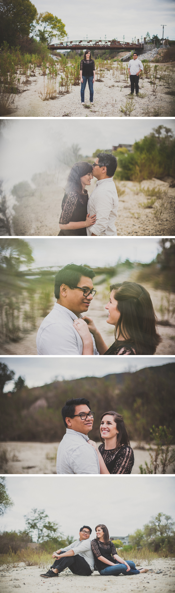 Engagement Photos In Old Town Temecula, California