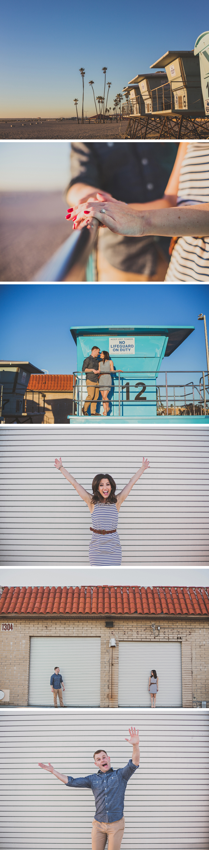 Oceanside Harbor Engagement Session Photos