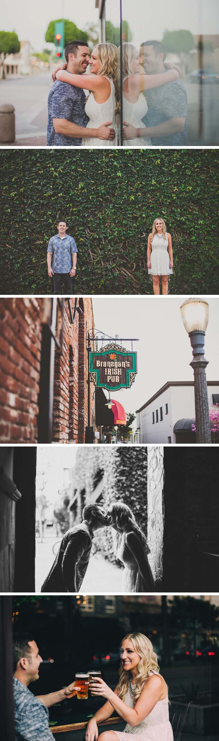 Downtown Fullerton Engagement Photos