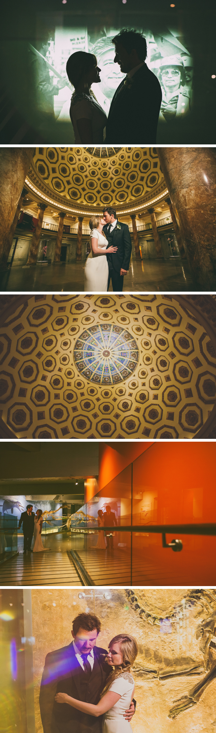 natural history museum wedding photos LA