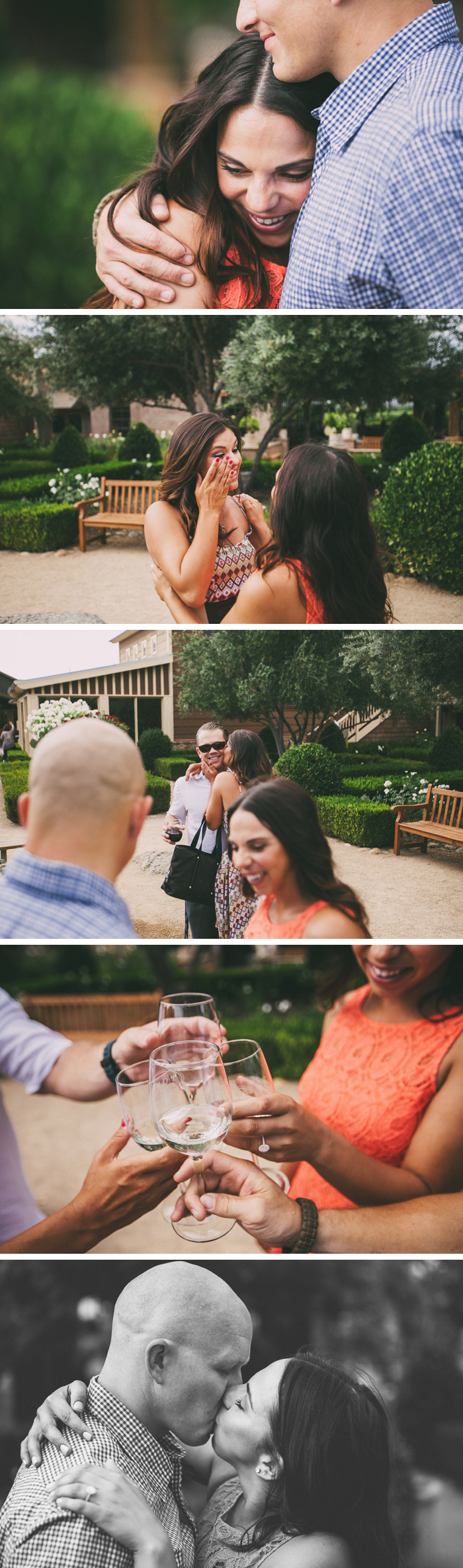 Ponte Winery Wedding Proposal Photos