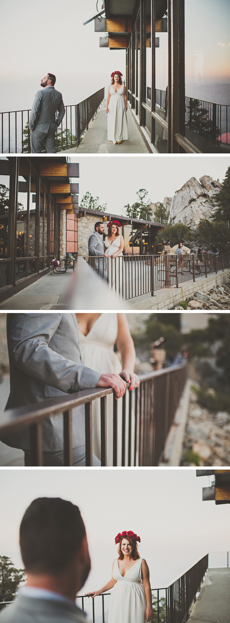 Palm SPrings Tram Wedding Photos