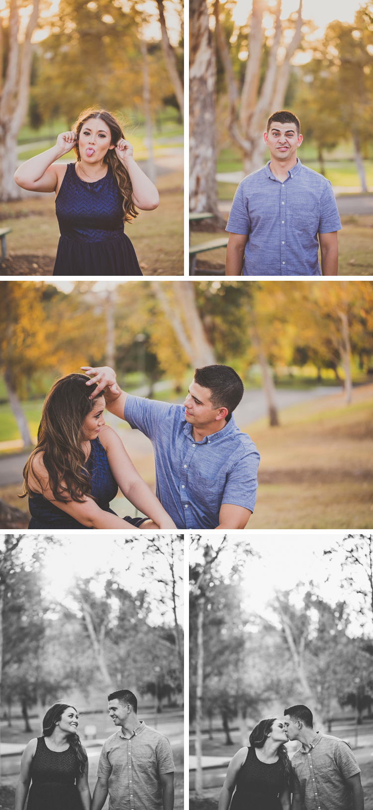 Craig Park Engagement Photos Brea California