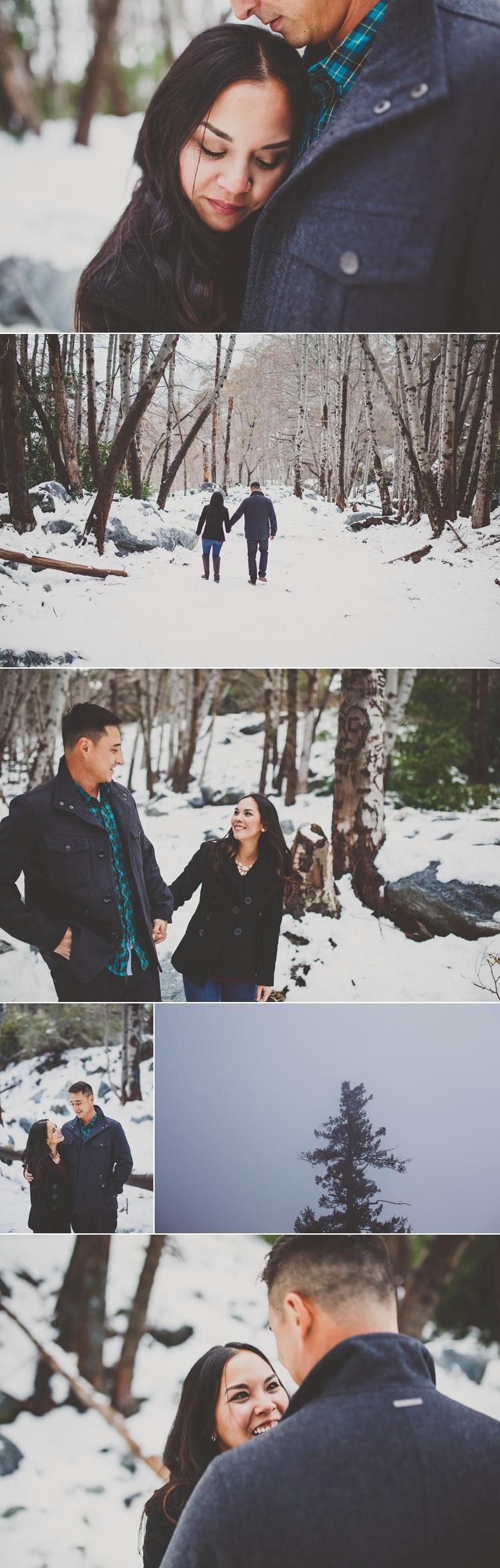 Mt. Baldy Engagement Photos