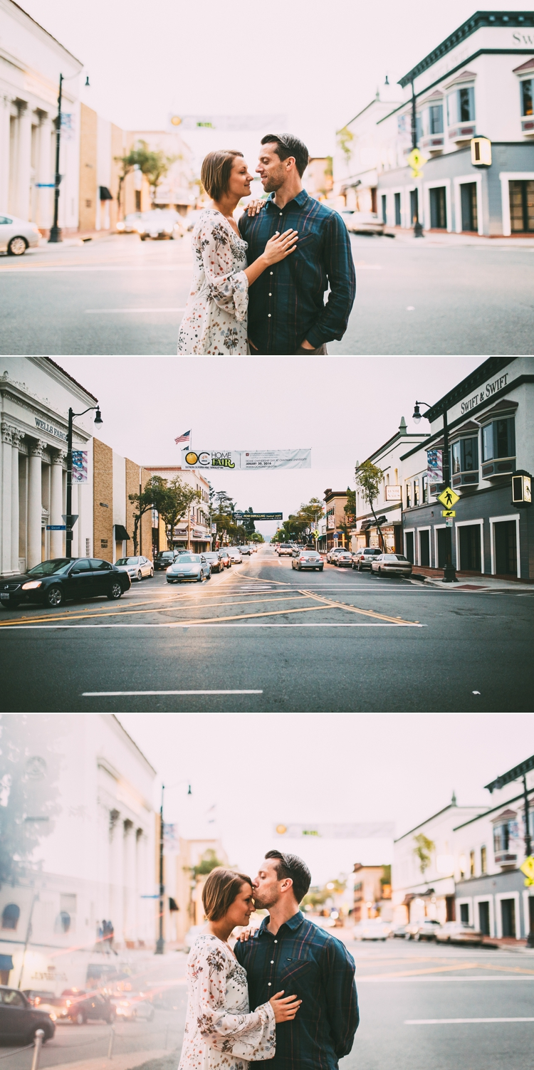City Of Orange Engagement Photos