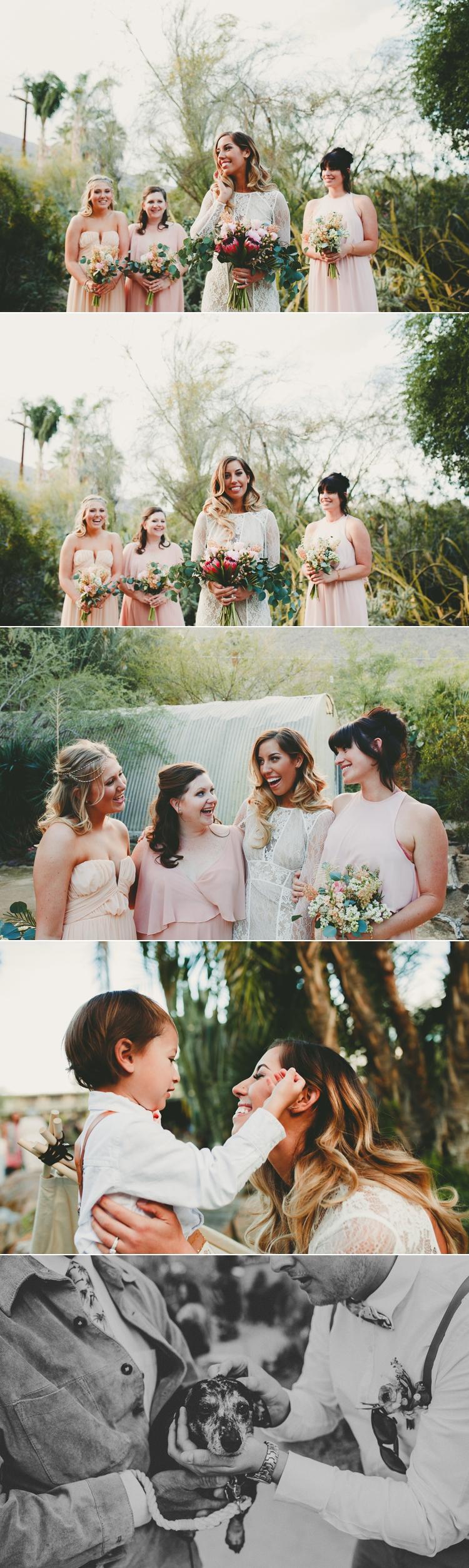 Moorten Botanical Garden Wedding Photos