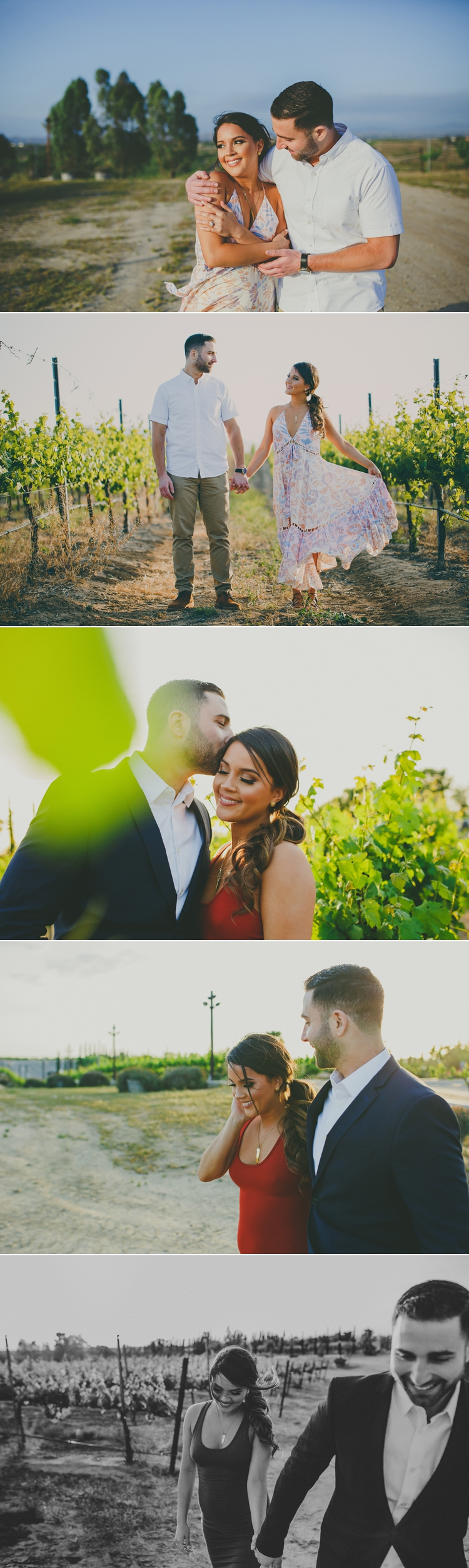 Wine Country Temecula Engagement Photos