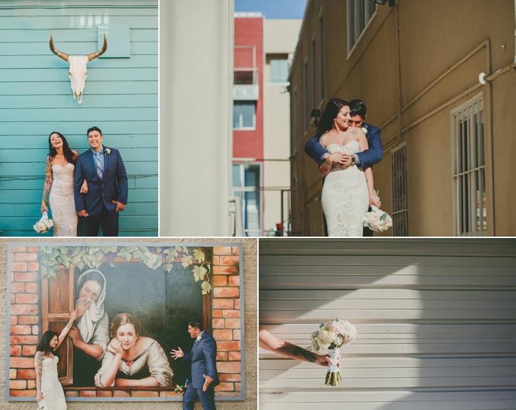Little Italy San Diego Wedding