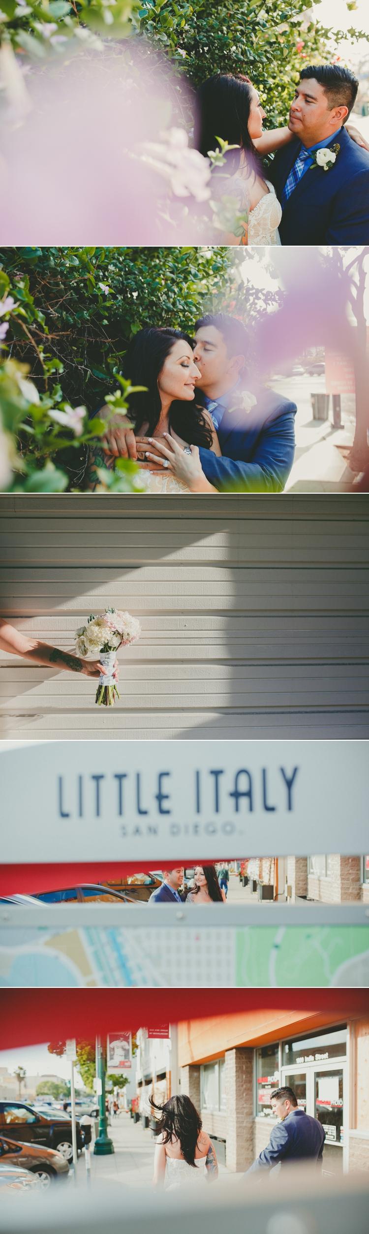 Little Italy San Diego Wedding Photos