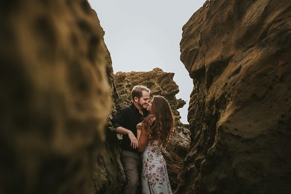 Heisler Park Laguna Beach Engagement Photos