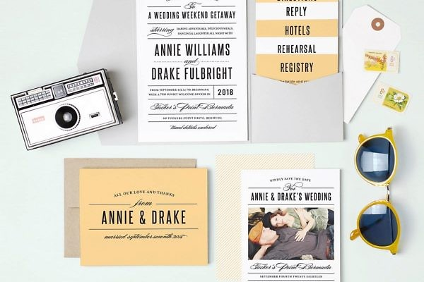 Photo Wedding Invitation Inspiration
