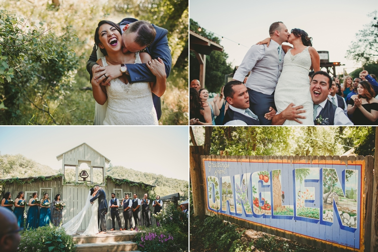 Homestead Oak Glen Wedding
