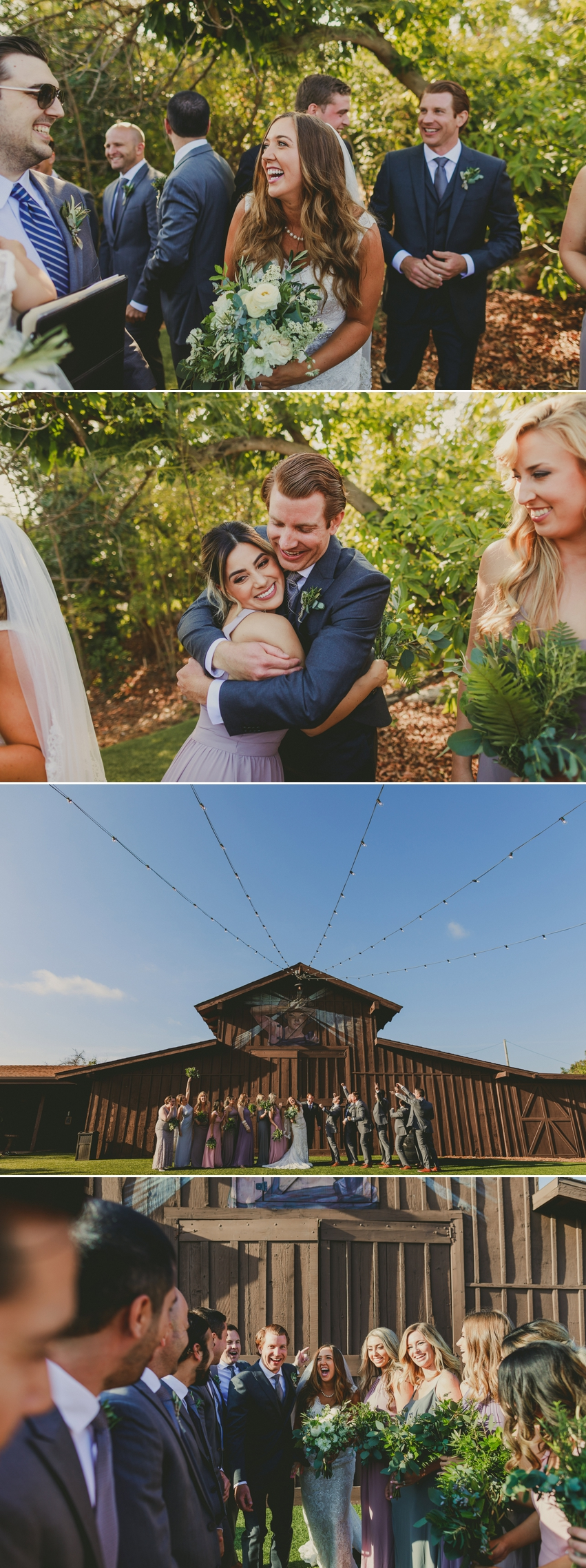 California Botanical Gardens Wedding