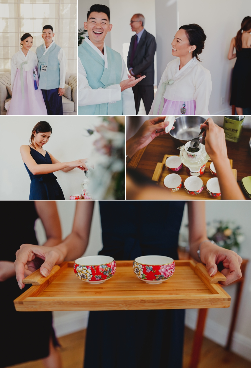 Japanese Tea Ceremony Wedding
